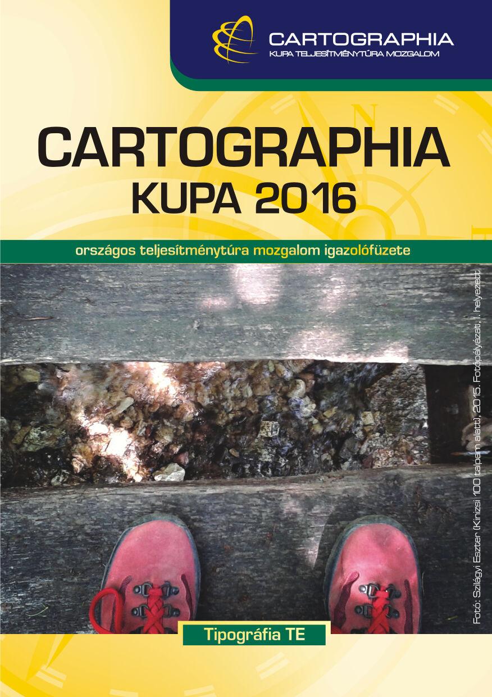 Cartographia Kupa 2016 igazolófüzet