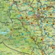 Vietnám-Laosz-Kambodzsa World Compact térkép