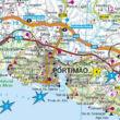 Algarve térkép