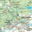 WK023 Thermenregion Baden-Rosaliengebirge-Hohe Wand-Forchtenstein-Wiener Neustadt térség turistatérkép