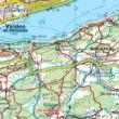WK233 Wörthersee-Ossiacher See-Faaker See-Karawanken-Klagenfurt am Wörthersee-Villach-Jesenice turistatérkép