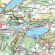 WK238 Südkarnten-Klopeiner See-Völkermarkt-Bleiburg-Karawanken turistatérkép