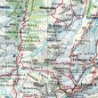 WK382 Zell am See-Kaprun-Saalbach turistatérkép