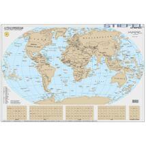 A Föld országai -  kaparós világtérkép