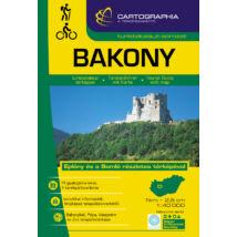 Cartographia  - Bakony turistakalauz