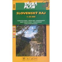 TP2504 Szlovák Paradicsom turistatérkép