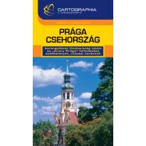 Cartographia  - Prága - Csehország útikönyv