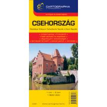 Cartographia  - Csehország autótérkép