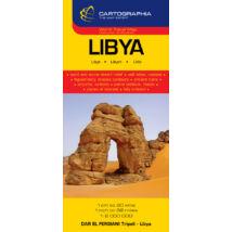 Cartographia  - Líbia térkép
