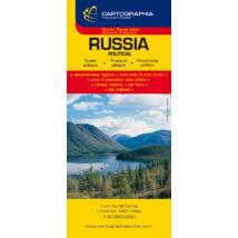 Cartographia  - Oroszország politikai térkép