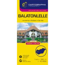 Cartographia  - Balatonlelle várostérkép