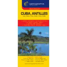 Cartographia  - Kuba, Antillák térkép