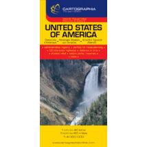 Amerikai Egyesült Államok (USA) térkép