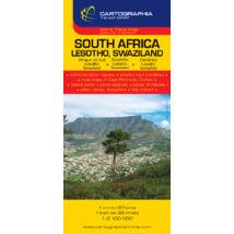 Cartographia  - Dél-Afrika/Lesotho/Szváziföld térkép