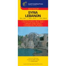 Cartographia  - Szíria/Libanon térkép