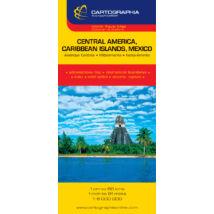 Közép-Amerika (Mexikó és a Karib-szigetek) térkép
