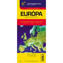 Cartographia  - Európa autótérkép