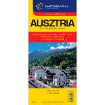 Cartographia  - Ausztria autótérkép