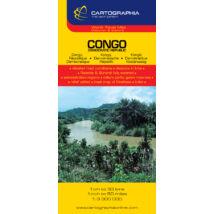 Cartographia  - Kongói Demokratikus Köztársaság térkép
