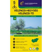 Cartographia  - Velencei-hg. és a Velencei-tó turistatérkép [19]