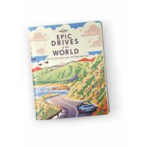 Cartographia  - Epic drives of the World útikönyv