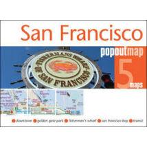 San Francisco PopOut várostérkép