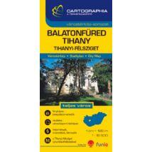Cartographia  - Balatonfüred, Tihany várostérkép (+Veszprém megye térképe)