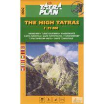 TP2502 Magas-Tátra turistatérkép