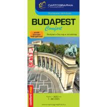 Cartographia  - Budapest Comfort térkép (laminált)