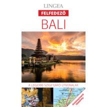 Bali felfedező útikönyv térképpel