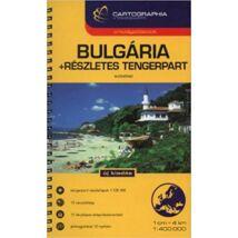 Cartographia  - Bulgária autóatlasz +részletes tengerpart