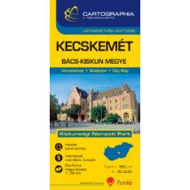 Cartographia  - Kecskemét várostérkép (+Bács-Kiskun megye térképe)