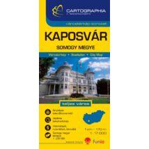 Cartographia  - Kaposvár várostérkép (+Somogy megye térképe)