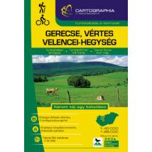 Cartographia  - Vértes, Gerecse és Velencei-hg. turistakalauz