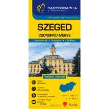 Cartographia  - Szeged várostérkép (+Csongrád megye térképe)