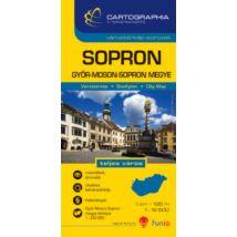 Cartographia  - Sopron várostérkép (+Győr-Moson-Sopron megye térképe)