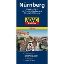 Nürnberg várostérkép