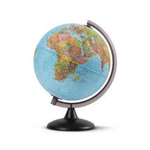 Cartographia  - Földgömb - politikai, 25 cm átmérőjű, műanyagtalpas