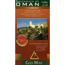 Cartographia  - Omán domborzati térkép