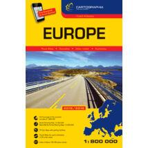 Cartographia  - Európa atlasz 2015