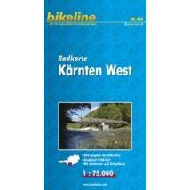 Cartographia  - Nyugat-Karintia kerékpáros térkép
