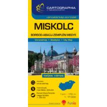 Cartographia  - Miskolc várostérkép (+Borsod-Abaúj-Zemplén megye térképe)