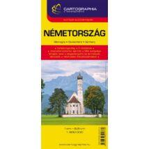 Cartographia  - Németország autótérkép