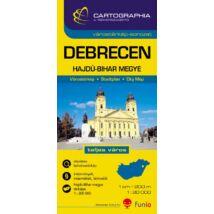 Cartographia  - Debrecen várostérkép (+Hajdú-Bihar megye térképe)