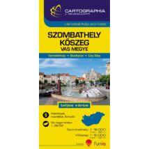 Szombathely, Kőszeg várostérkép (+Vas megye térképe)