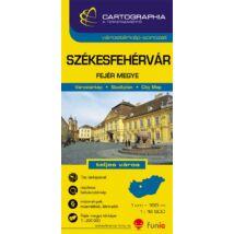 Cartographia  - Székesfehérvár várostérkép (+Fejér megye térképe)