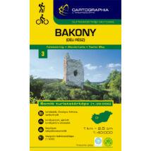 Cartographia  - Bakony-Dél turistatérkép [3]