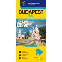 Cartographia  - Budapest Extra (keményborítós) térkép