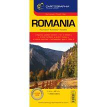 Cartographia  - Románia autótérkép