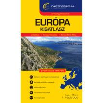 Cartographia  - Európa kisatlasz (spirálos)